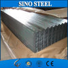 Placa de material para techos de acero galvanizada cubierta cinc