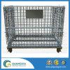 De Opslag die van het pakhuis de Stapelbare Container van het Netwerk van de Draad van het Staal vouwen