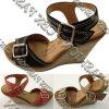 Pattini A136003890 dei sandali delle donne di estate spostati modo dei talloni di cunei
