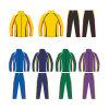 Survêtement de basket-ball personnalisé réchauffer costume avec logo de votre club