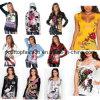 Katoenen van de nieuwe Vrouwen van de Aankomst Overhemd, Gemerkt de T-shirt van Vrouwen, de Korte T-shirt van de Koker