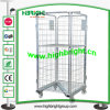 Складные транспортный контейнер проволочной сетки