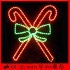 Decoración de Navidad LED al aire libre Decoración Candy Bowknot Light