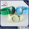 De in het groot Dames vormen het Horloge van het Silicium van het Horloge van het Merk van Genève (gelijkstroom-437)