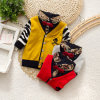 12gg 100%Cotton Spring/Autumn Boy Knitwear Children Cardigan