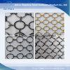 金属のリングの建築装飾的な網