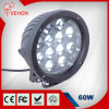 Hoogste Quality New Design 9-60V gelijkstroom 7  60W 5400lm LED Flood Work Light voor Truck