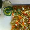 Mixed inscatolato Vegetables in Glass Jar o in Tin