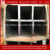 Tubo de acero cuadrado y tubo rectangular Tubo de acero para la construcción