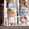Reeks van het Gewas van het Af:drukken van Jumpsuit van het Kruippakje van vrouwen de Bloemen Hoogste Korte (TONY9002)
