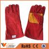 Gants de sécurité en cuir de soudure industrielle pour les travailleurs de la construction