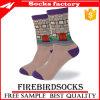 China-Socken-Fabrik-Baumwollsport-kundenspezifische Firmenzeichen-Kleid-Mann-Socken