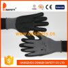 Gant noir en nylon gris de vente chaud de nitriles de Ddsafety 2017