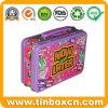 Mittagessen-Zinn-Kasten mit Griff für Förderung, Geschenk-Zinn-Behälter