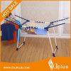 Barras colgantes de acero cromado con zapata de fondo tubular robusta / estante de equipaje Jp-Cr0504