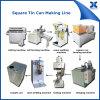18L大きい正方形のブリキは機械で造ることができる