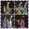 Buntes USA-Dekoration-Glaswasser-Pfeife mit Nizza Perc