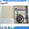24VAC 10AMP 18CH에 의하여 상자에 넣어지는 CCTV 사진기 전력 공급 (24VAC10A18P)