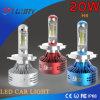 Auto voiture 20W à LED lumière utilisez H4 H7 H3 prix d'usine