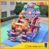 2017 parque de atracciones del juego de ruedas Sky inflable de diapositivas juegos infantil inflable Salto de diapositivas gorila en venta (AQ01799)