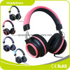 2017 auscultadores novos/auriculares da cor-de-rosa do estilo do metal do projeto