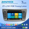 De AudioStereo-installatie van de auto met de Versie van de Huivering voor Lotus (zt-L701)