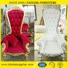 Hoher rückseitiger Hotel-Stuhl-König Chair Queen Chair Throne