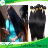 Precio al por mayor barato brasileño de la Virgen del pelo del 100% Remy de la extensión del pelo