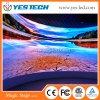 Flexible gebogene farbenreiche LED-Innenbildschirme für Miete/Stadium