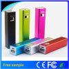 Einzelne USB-Minienergien-Bank 2600mAh 18650 Powerbank