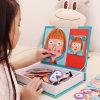 De populaire Puzzel van de Schildersezel van het Stuk speelgoed van de Intelligentie van het Spel van Kinderen Magnetische