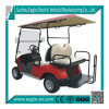 4 Sitze Electric Golf Car, Batterie-angeschalten, Eg. 2028ksz, mit Flipflop Seats, CER Approved