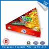 Diseño exclusivo, de forma de triángulo de Papel Caja de Pizza de Cartón Ondulado