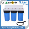 Traingle 10 '' blauer riesiger Rohr Filteration Wasser-Filter-Wasser-Reinigungsapparat