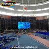 Muestra de interior de la visualización de LED de la pantalla del LED