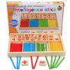 Het in het groot Intelligente Speelgoed van het Blok van de Stok van het Spel van het Stuk speelgoed van het Onderwijs Houten voor Jonge geitjes