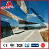 Spiegel-Auslegung/Haarstrichauslegung ACP-zusammengesetztes Aluminiumpanel, Dibond Spiegel