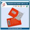 Carte à puce futée standard professionnelle de contact de carte à puce du fabricant ISO7816
