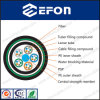 El solo PE Jacket Aerial Duct Optical Fiber Cable de Mode para Network
