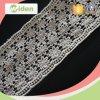 Recorte Baju algodón Ojal Encaje Encaje Kurung diseños química de encaje