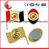 Qualitäts-magnetischer Zubehör-weicher Decklack-Namensabzeichen