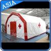Preiswertes bewegliches aufblasbares Emergency medizinisches Zelt-/Mobile-Erste HILFEen-aufblasbares Emergency Zelt für Flüchtling