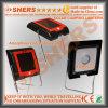 4 SMD LED Luz solar de campaña, con soporte de acero (SH-2004)