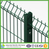 Qualitäts-Metalldraht-Ineinander greifen-Zaun mit dem grünen Puder beschichtet