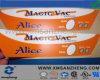 Etiquetas resistentes químicas resistentes do dispositivo médico do risco plástico do Autotype de Lexan do policarbonato do poliéster
