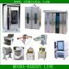 Bread industriale Making Machines, Rotary Rack Oven (riga completa del forno)