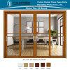 Алюминиевая/алюминиевая раздвижная дверь для строительных материалов