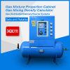 Tipo horizontal mistura de gases que proporciona o gabinete dos sistemas de distribuição da fábrica/gás