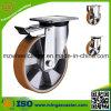 Hochleistungsaluminiummitte PU-Rad-Fußrolle