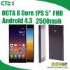 이중 Core Android 4.3 5  IPS FHD ROM 4G RAM512 Mi3 M3 Android 3G Cellphone